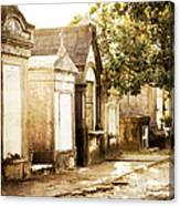 New Orleans Lafayette Cemetery No.1 Canvas Print