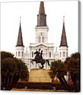 New Orleans St. Louis Cathedral Canvas Print