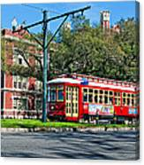 New Orleans Streetcar 2 Canvas Print