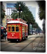 New Orleans Streetcar Canvas Print