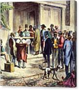 New Orleans: Voting, 1867 Canvas Print