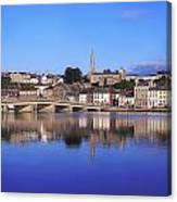 New Ross, Co Wexford, Ireland Canvas Print