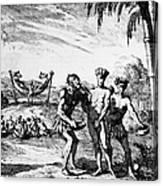 New World: El Dorado, 1727 Canvas Print