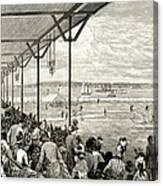 New York: Baseball, 1886 Canvas Print