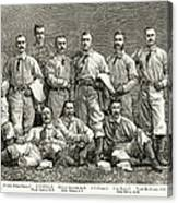New York Baseball Team Canvas Print
