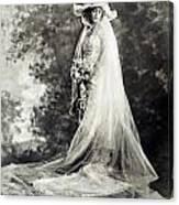 New York: Bride, 1920 Canvas Print