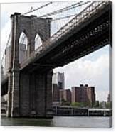 New York Bridges 1- Brooklyn Bridge Canvas Print