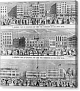 New York: Broadway, 1851 Canvas Print