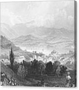 New York: Catskills, 1839 Canvas Print