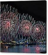 New York City Celebrates The 4th Canvas Print