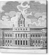 New York: City Hall, C1829 Canvas Print