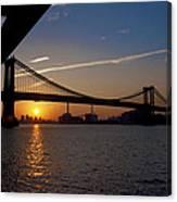 New York City Sunrise Canvas Print