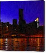 New York Colors Canvas Print