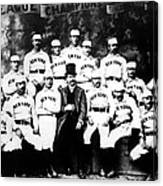 New York Giants, Baseball Team, 1889 Canvas Print
