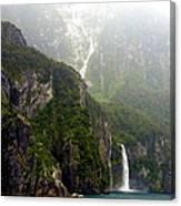 New Zealand's Milford Sound Canvas Print