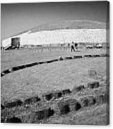 Newgrange Bru Na Boinne Site Canvas Print