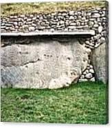 Newgrange Runes Canvas Print