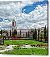 Newport Beach Temple  Canvas Print