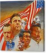 Nfl Hall Of Fame 1984 Game Day Cover Canvas Print