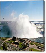 Niagara Falls From Above Canvas Print