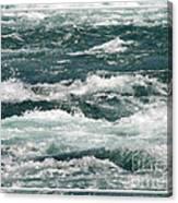 Niagara River Rapids 2 Canvas Print