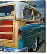 Nice Old Woody Canvas Print