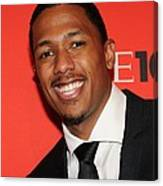 Nick Cannon At Arrivals For Time 100 Canvas Print
