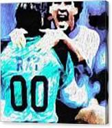 Nicolas Nixo Soccer Canvas Print
