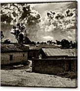 Nigerian Suburb Canvas Print