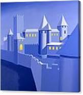 Night Castle Canvas Print