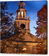 Night Church Canvas Print