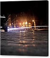 Night Cops Canvas Print