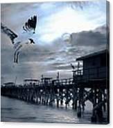 Night Landing Canvas Print
