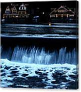 Nighttime At Boathouse Row Canvas Print