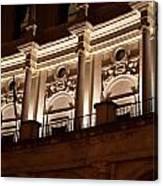Nighttime Palace Canvas Print