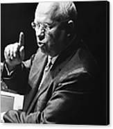 Nikita Khrushchev Canvas Print
