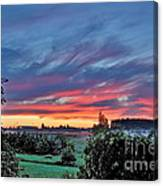 Nisqually Valley Sunrise Canvas Print