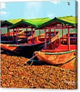 No Fish Today Canvas Print
