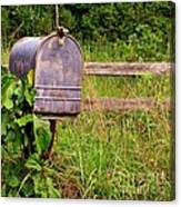No Mail Today Canvas Print