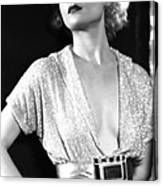 No Man Of Her Own, Carole Lombard, 1932 Canvas Print