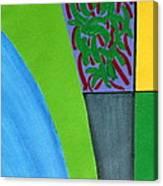 No.352 Abstract Landscape Study Canvas Print