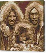 Noatak Family Group Canvas Print