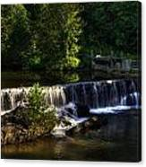 Nora Mill Falls Canvas Print