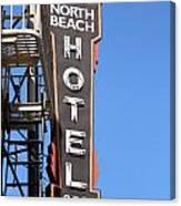 North Beach Hotel San Francisco Canvas Print