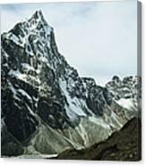 North Face Of Cholatse Peak Towers Canvas Print
