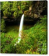 North Falls Canyon Canvas Print