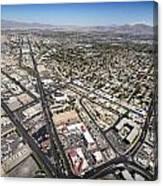 North Las Vegas View Canvas Print