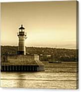 North Pier Lighthouse Canvas Print