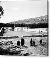 North Pool In 1939 Canvas Print