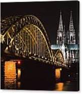 North Rhine, Westphalia, Dom And Canvas Print